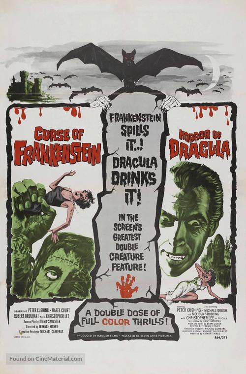 The Curse of Frankenstein - Movie Poster