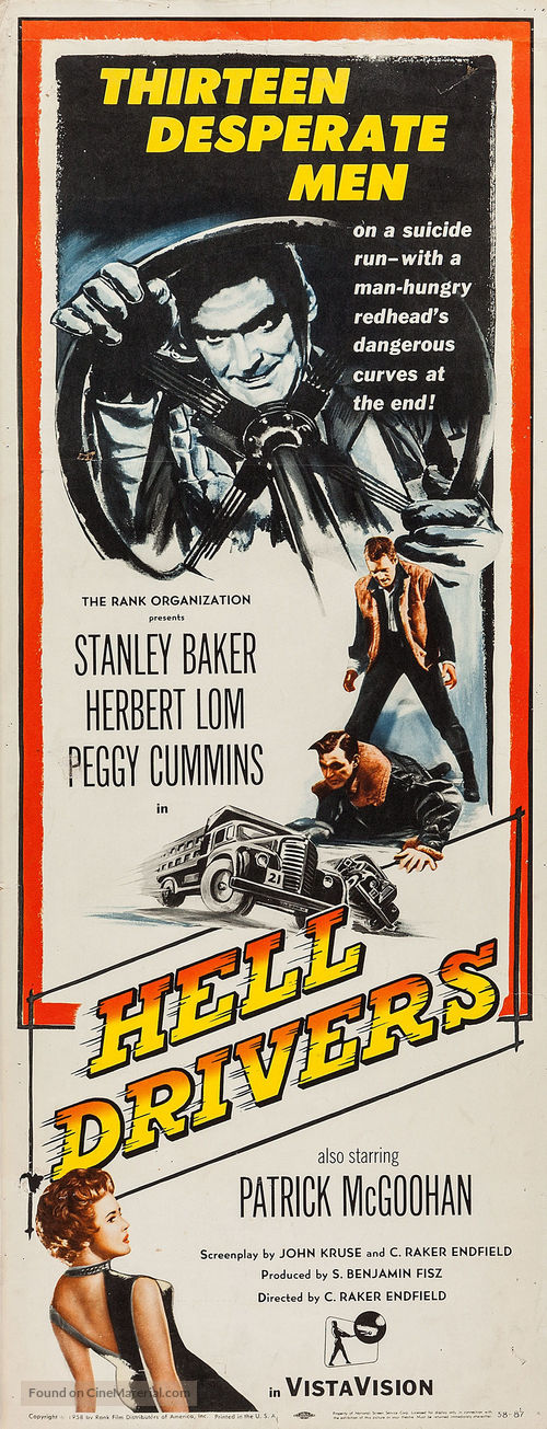 Hell Drivers - Movie Poster