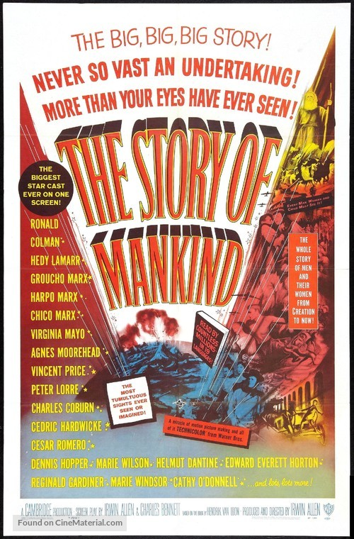 The Story of Mankind - Movie Poster