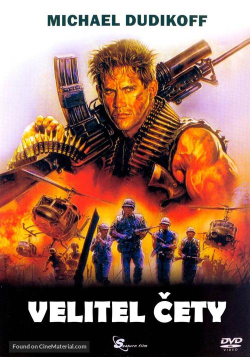 Platoon Leader - Czech DVD movie cover
