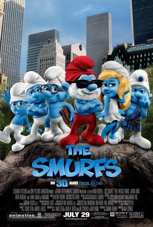 The Smurfs - Movie Poster