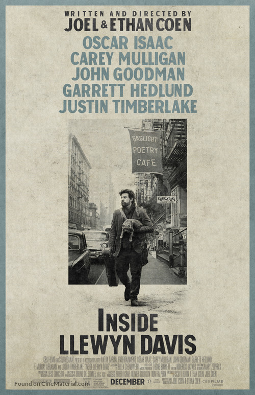Inside Llewyn Davis - Movie Poster