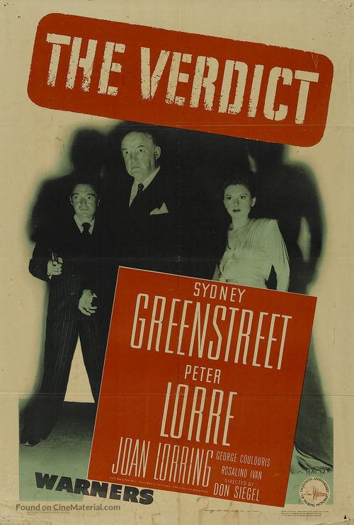 The Verdict - Movie Poster
