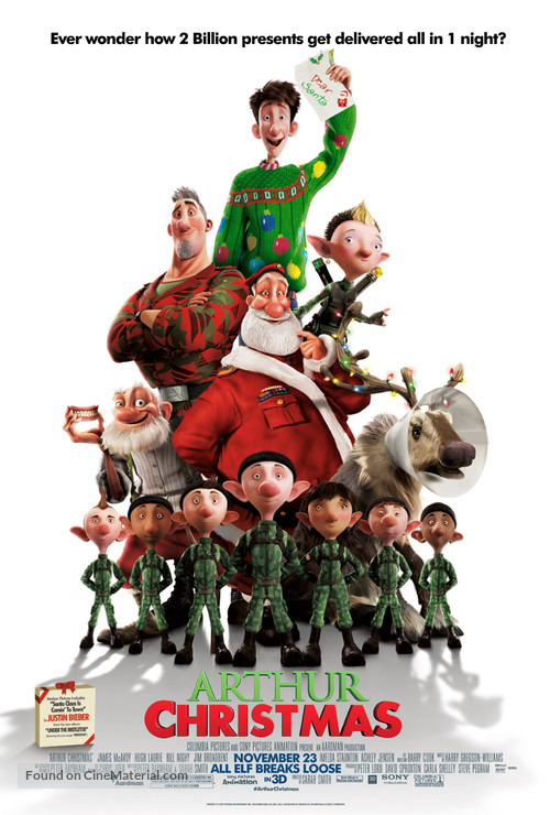 Arthur Christmas - Movie Poster