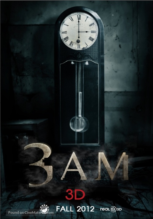 3 A.M. 3D - Movie Poster