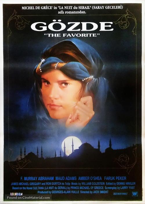 The Favorite - Turkish Movie Poster