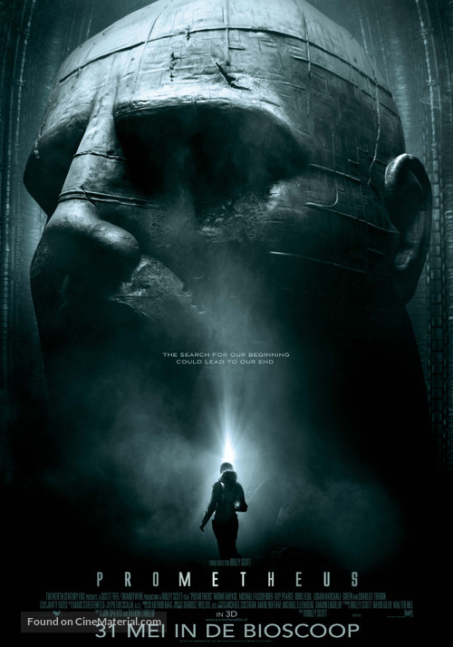Prometheus - Dutch Movie Poster