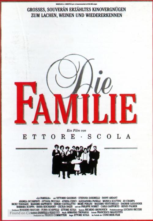 La famiglia - German Movie Poster
