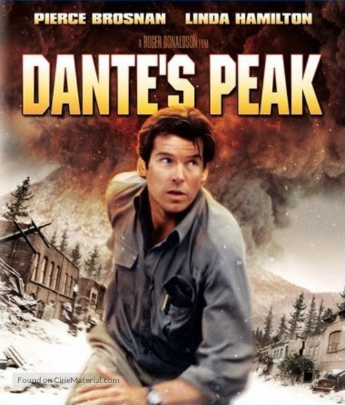 Dante's Peak - Blu-Ray movie cover