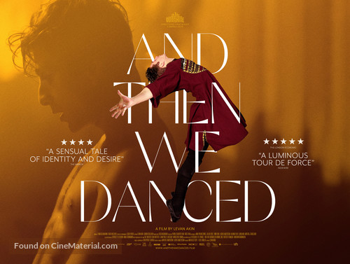 And Then We Danced - British Movie Poster