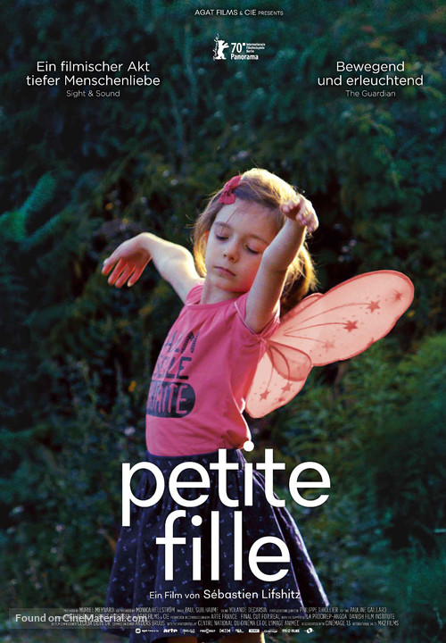 Petite fille - Swiss Movie Poster