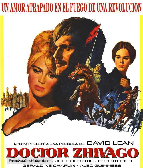 Doctor Zhivago - Spanish Blu-Ray movie cover