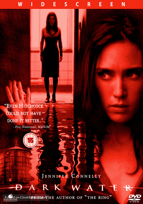 Dark Water - British DVD movie cover