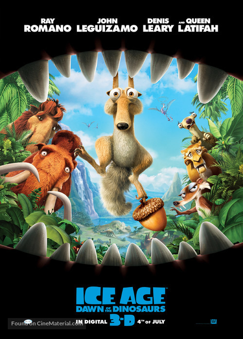 Ice Age: Dawn of the Dinosaurs - Movie Poster