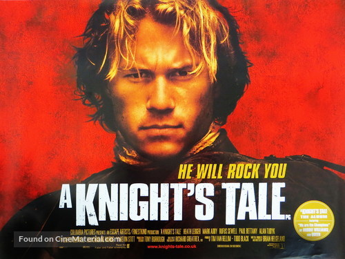 A Knight's Tale - British Movie Poster