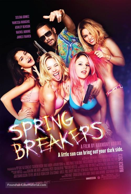 Spring Breakers - Movie Poster