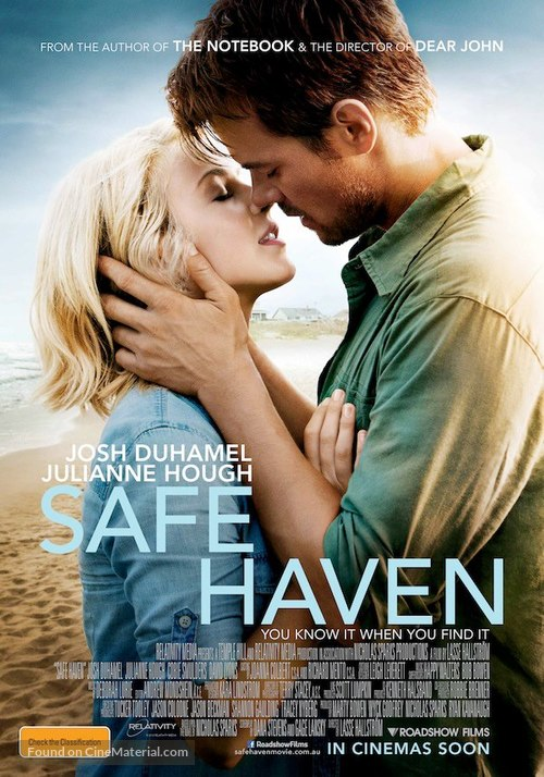Safe Haven - Australian Movie Poster