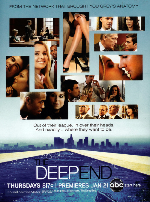 """""""The Deep End"""" - Movie Poster"""