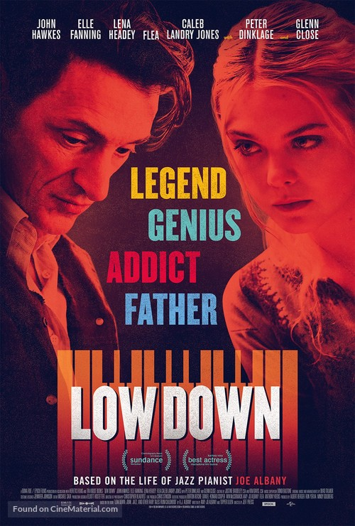 Low Down - British Movie Poster