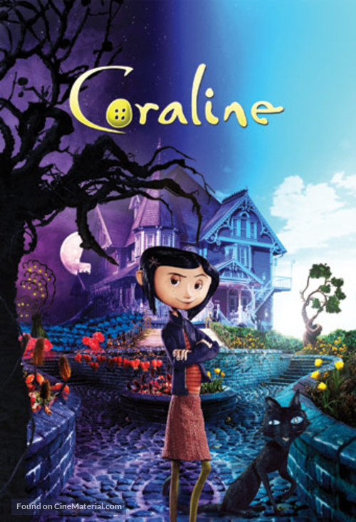 Coraline - Slovenian Movie Poster