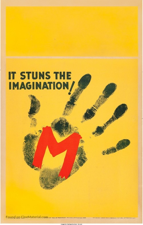 M - Movie Poster