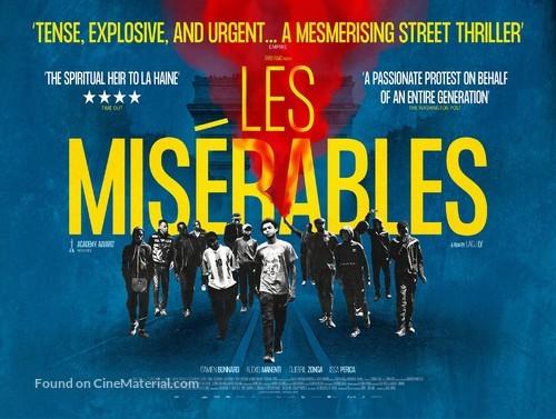 Les misérables - British Movie Poster
