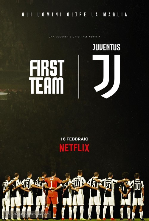"""First Team: Juventus"" - Italian Movie Poster"