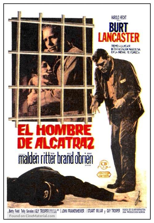 Birdman of Alcatraz - Spanish Movie Poster