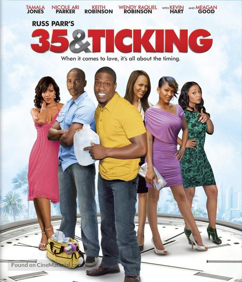 35 and Ticking - Blu-Ray movie cover