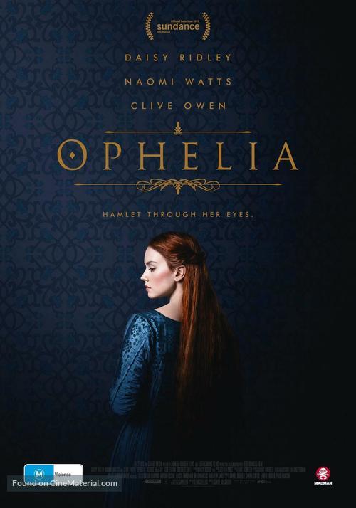 Ophelia - Australian DVD movie cover