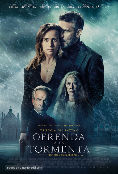 Ofrenda a la tormenta - Spanish Movie Poster