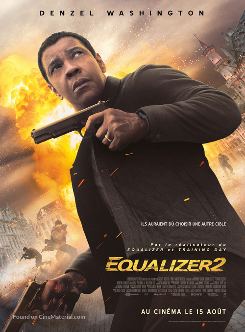 The Equalizer 2 - French Movie Poster