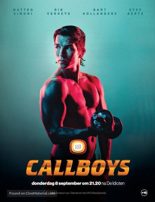 """Callboys"" - Belgian Movie Poster"