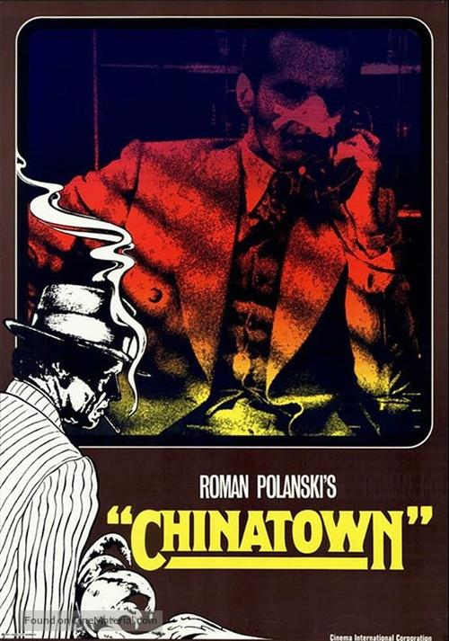 Chinatown - German Movie Poster