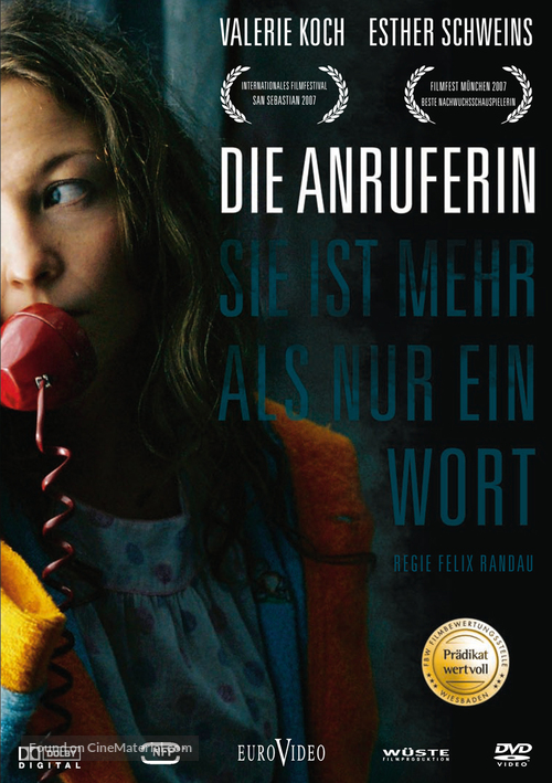 Anruferin, Die - German Movie Cover