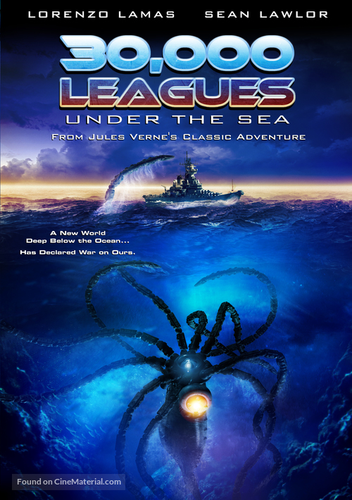 30,000 Leagues Under the Sea - DVD movie cover