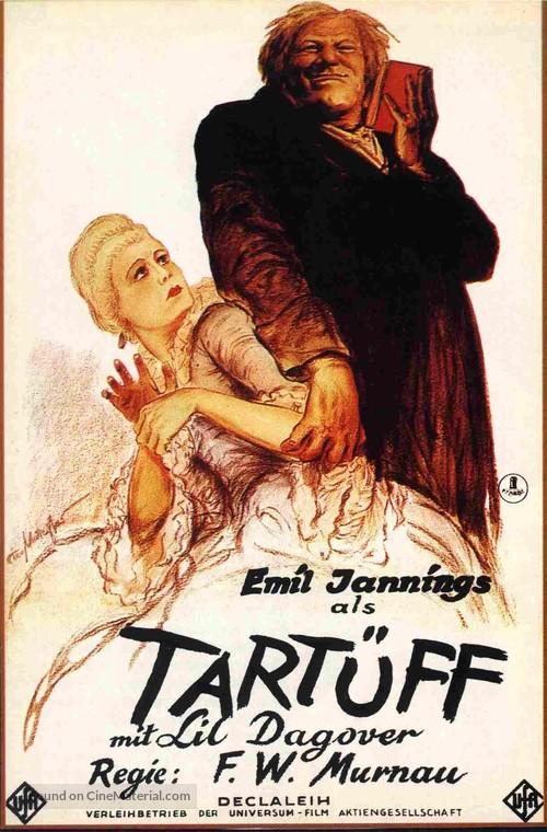 Herr Tartüff - German Movie Poster