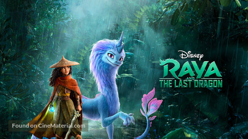 Raya and the Last Dragon - Movie Cover