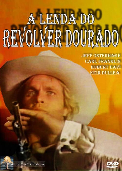 The Legend of the Golden Gun - Brazilian Movie Cover