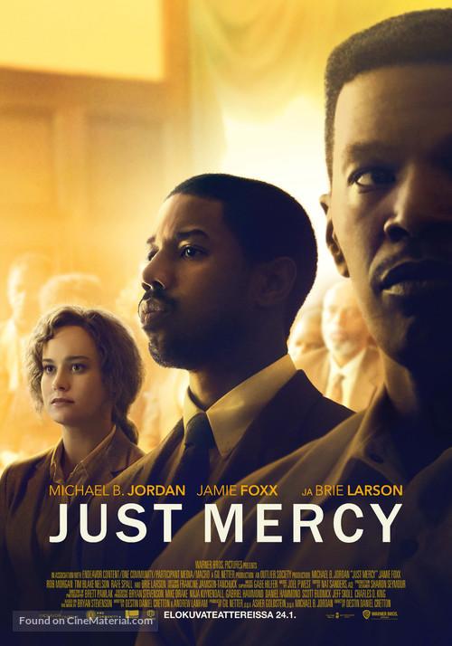 Just Mercy - Finnish Movie Poster