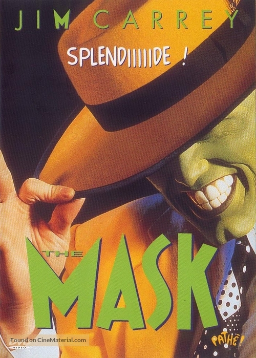The Mask - French DVD cover