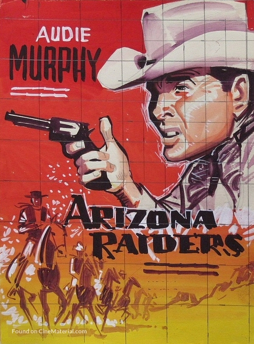 Arizona Raiders - Danish Movie Poster