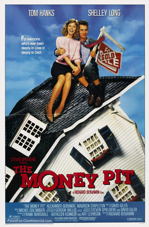 The Money Pit - Movie Poster