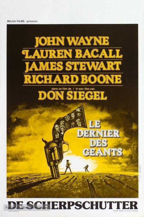 The Shootist - Belgian Movie Poster