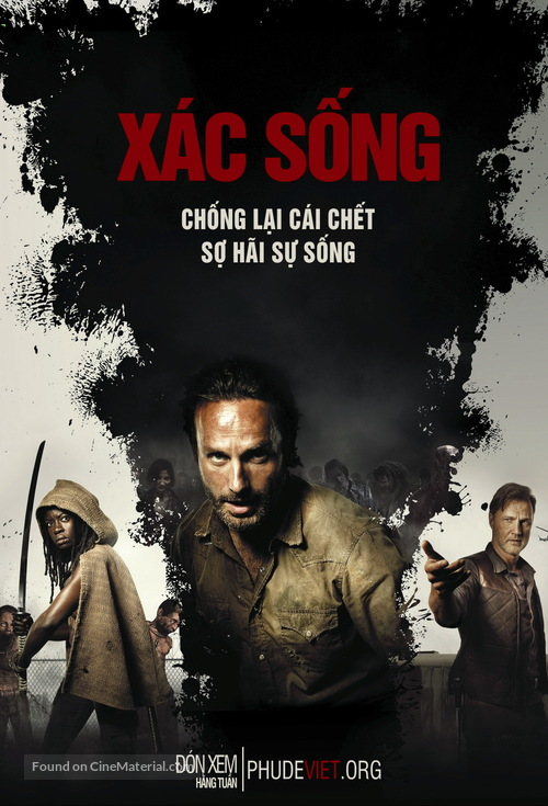"""The Walking Dead"" - Vietnamese Movie Poster"