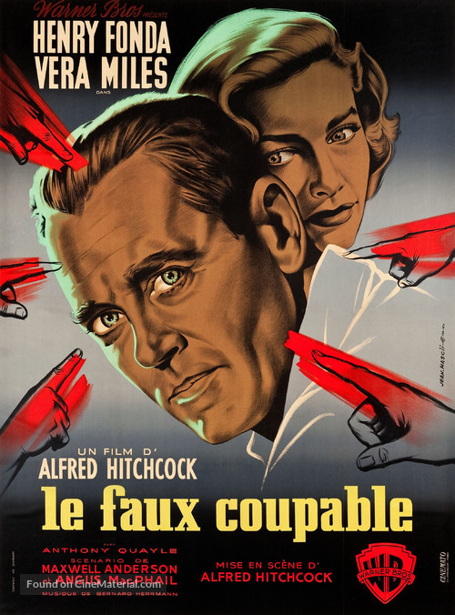 The Wrong Man - French Movie Poster