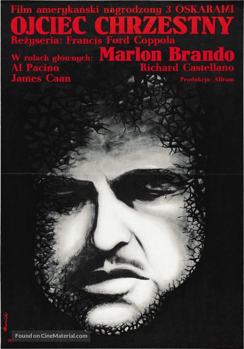The Godfather - Polish Movie Poster