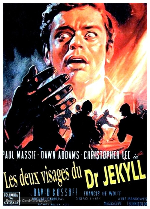 The Two Faces of Dr. Jekyll - French Movie Poster