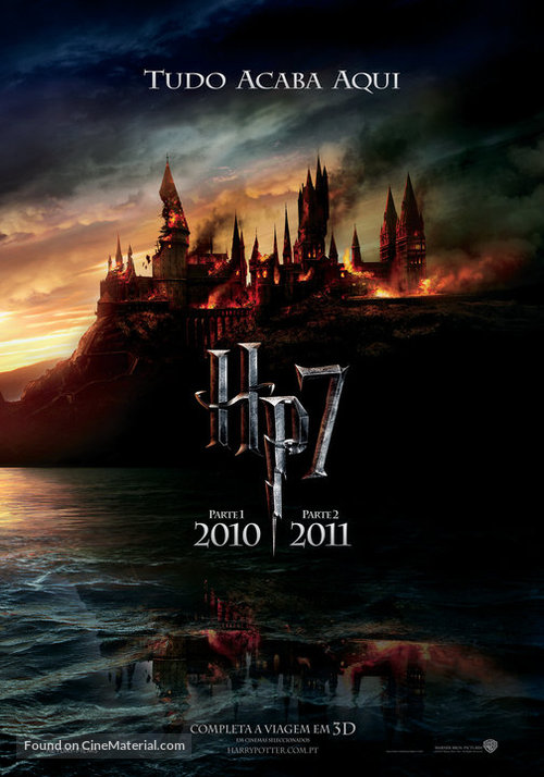 Harry Potter and the Deathly Hallows: Part I - Portuguese Movie Poster