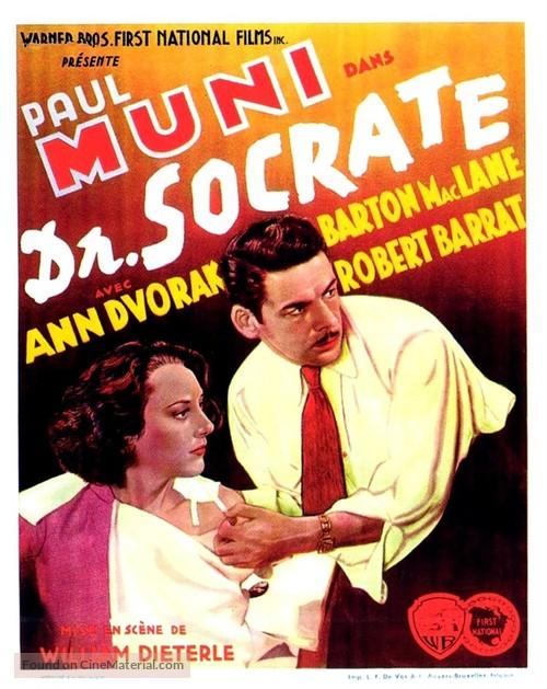 Dr. Socrates - Belgian Movie Poster